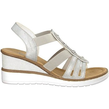 Παπούτσια Γυναίκα Σανδάλια / Πέδιλα Rieker Ice Sandals White