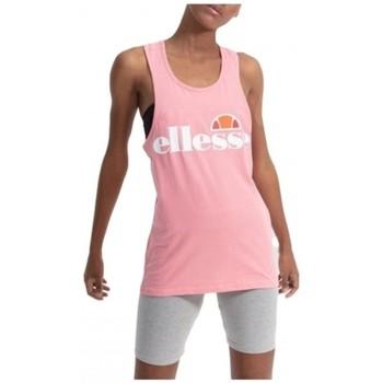 Υφασμάτινα Γυναίκα Αμάνικα / T-shirts χωρίς μανίκια Ellesse CAMISETA TIRANTES  SGS04485 Ροζ