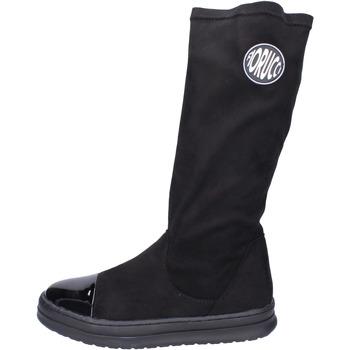 Παπούτσια Κορίτσι Μπότες για την πόλη Fiorucci BH520 Μαύρος