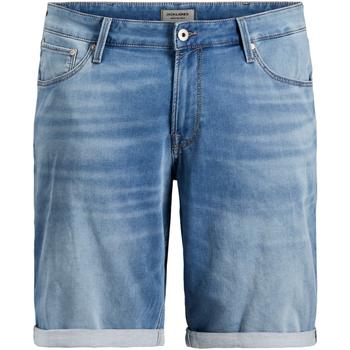 Shorts & Βερμούδες Jack & Jones 12167648 JJIRICK JJICON GE 003 I.K STS PS BLUE DENIM [COMPOSITION_COMPLETE]