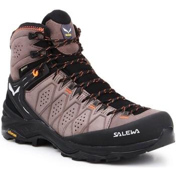 Παπούτσια Άνδρας Πεζοπορίας Salewa MS Alp Trainer 2 Mid GTX 61382-7512 black, brown