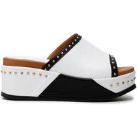 Παπούτσια Γυναίκα Τσόκαρα Café Noir HH1360 λευκό