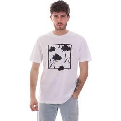 Υφασμάτινα Άνδρας T-shirt με κοντά μανίκια Sseinse TE1818SS λευκό