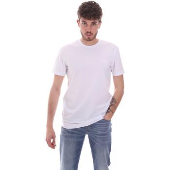 Υφασμάτινα Άνδρας T-shirt με κοντά μανίκια Antony Morato MMKS01855 FA120022 λευκό