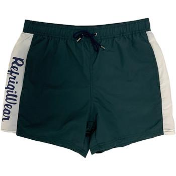 Υφασμάτινα Άνδρας Μαγιώ / shorts για την παραλία Refrigiwear 808491 Πράσινος