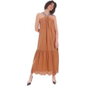 Υφασμάτινα Γυναίκα Μακριά Φορέματα Gaudi 111FD15012 καφέ
