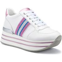 Παπούτσια Γυναίκα Χαμηλά Sneakers Lumberjack SW58111 002EU X91 λευκό