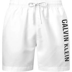Υφασμάτινα Άνδρας Σόρτς / Βερμούδες Calvin Klein Jeans KM0KM00570 λευκό