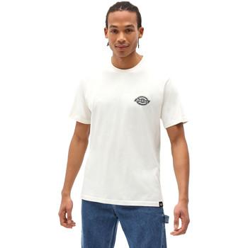 Υφασμάτινα Άνδρας T-shirt με κοντά μανίκια Dickies DK0A4XENECR1 λευκό
