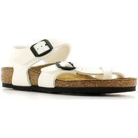 Παπούτσια Παιδί Σανδάλια / Πέδιλα Birkenstock 310063 λευκό