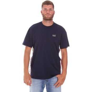 Υφασμάτινα Άνδρας T-shirt με κοντά μανίκια Ea7 Emporio Armani 3KPT13 PJ02Z Μπλε