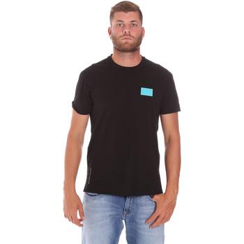 Υφασμάτινα Άνδρας T-shirt με κοντά μανίκια Ea7 Emporio Armani 3KPT50 PJAMZ Μαύρος