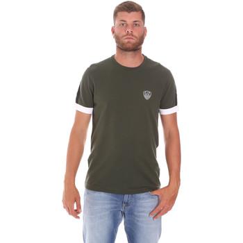 Υφασμάτινα Άνδρας T-shirt με κοντά μανίκια Ea7 Emporio Armani 3KPT56 PJ4MZ Πράσινος