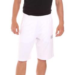 Υφασμάτινα Άνδρας Μαγιώ / shorts για την παραλία Ea7 Emporio Armani 3KPS59 PJ05Z λευκό