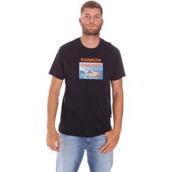 Υφασμάτινα Άνδρας T-shirt με κοντά μανίκια Sundek M047TEJ7800 Μαύρος