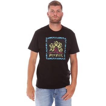 Υφασμάτινα Άνδρας T-shirt με κοντά μανίκια Sundek M021TEJ78FL Μαύρος
