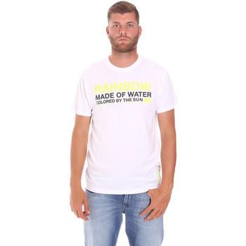 Υφασμάτινα Άνδρας T-shirt με κοντά μανίκια Sundek M058TEJ7800 λευκό