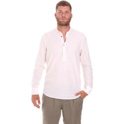 Υφασμάτινα Άνδρας Πουκάμισα με μακριά μανίκια Sseinse CE611SS λευκό