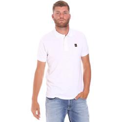 Υφασμάτινα Άνδρας Πόλο με κοντά μανίκια  Refrigiwear RM0T25900PQ9002 λευκό