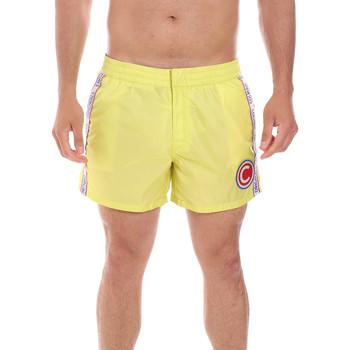 Υφασμάτινα Άνδρας Μαγιώ / shorts για την παραλία Colmar 7266 5ST Κίτρινος