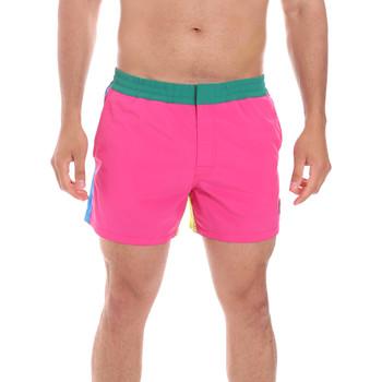 Υφασμάτινα Άνδρας Μαγιώ / shorts για την παραλία Colmar 7268 1QF Ροζ
