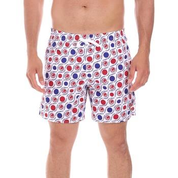 Υφασμάτινα Άνδρας Μαγιώ / shorts για την παραλία Colmar 7248 3TH λευκό