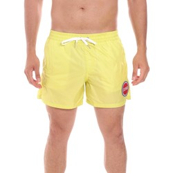 Υφασμάτινα Άνδρας Μαγιώ / shorts για την παραλία Colmar 7267 5ST Κίτρινος