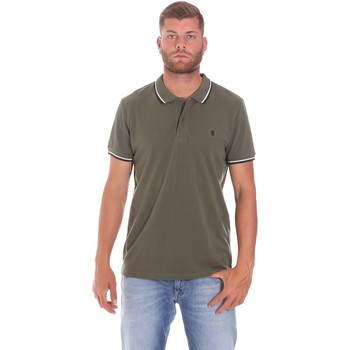 Υφασμάτινα Άνδρας Πόλο με κοντά μανίκια  Lumberjack CM45940 016EU Πράσινος