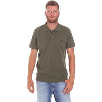 Υφασμάτινα Άνδρας Πόλο με κοντά μανίκια  Lumberjack CM45940 015EU 506 Πράσινος