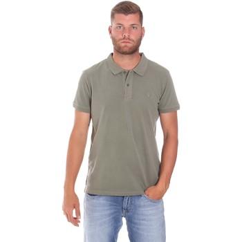 Υφασμάτινα Άνδρας Πόλο με κοντά μανίκια  Lumberjack CM45940 017EU Πράσινος