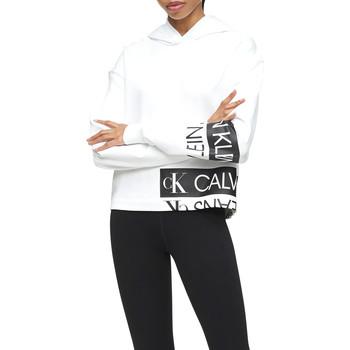 Υφασμάτινα Γυναίκα Φούτερ Calvin Klein Jeans J20J215262 λευκό