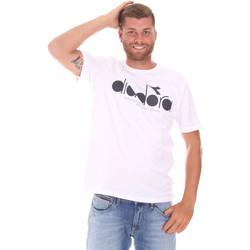 Υφασμάτινα Άνδρας T-shirt με κοντά μανίκια Diadora 502176633 λευκό
