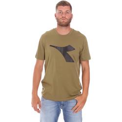 Υφασμάτινα Άνδρας T-shirt με κοντά μανίκια Diadora 102175852 Πράσινος