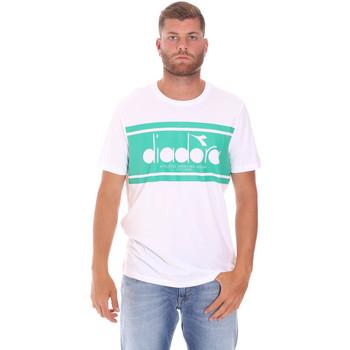 Υφασμάτινα Άνδρας T-shirt με κοντά μανίκια Diadora 502176632 λευκό