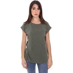 Υφασμάτινα Άνδρας T-shirt με κοντά μανίκια Lumberjack CW60343 011EU Πράσινος