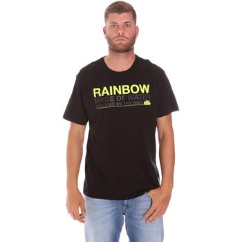 Υφασμάτινα Άνδρας T-shirt με κοντά μανίκια Sundek M058TEJ7800 Μαύρος