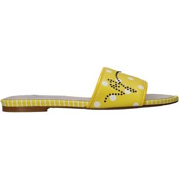 Παπούτσια Γυναίκα Τσόκαρα Manila Grace S621LP Κίτρινος