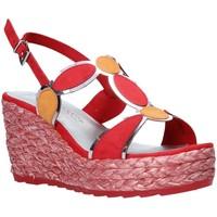 Παπούτσια Γυναίκα Σανδάλια / Πέδιλα Marco Tozzi 2-2-28342-26 το κόκκινο