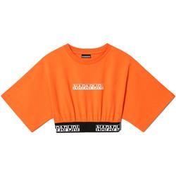 Υφασμάτινα Γυναίκα T-shirt με κοντά μανίκια Napapijri NP0A4FHH Πορτοκάλι
