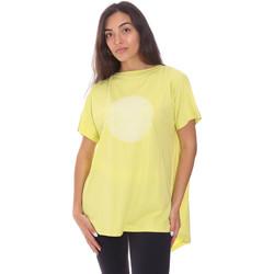 Υφασμάτινα Γυναίκα T-shirt με κοντά μανίκια Colmar 8606 6SH Πράσινος