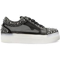 Παπούτσια Γυναίκα Χαμηλά Sneakers Cult CLE104268 Μαύρος