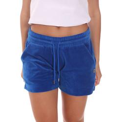 Υφασμάτινα Γυναίκα Σόρτς / Βερμούδες Colmar 9086 1TP Μπλε
