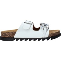 Παπούτσια Γυναίκα Τσόκαρα Gold&gold A21 FL160 λευκό