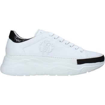 Παπούτσια Άνδρας Χαμηλά Sneakers Roberto Cavalli 10734 B λευκό