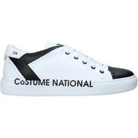 Παπούτσια Άνδρας Ψηλά Sneakers Costume National 10426/CP B λευκό