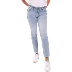 Υφασμάτινα Γυναίκα Τζιν σε ίσια γραμμή Gaudi 111BD26011 Μπλε