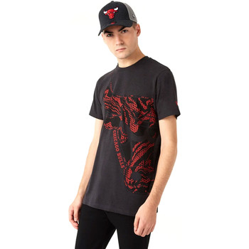 Υφασμάτινα Άνδρας T-shirt με κοντά μανίκια New-Era 12720127 Μαύρος