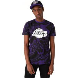 Υφασμάτινα Άνδρας T-shirt με κοντά μανίκια New-Era 12720128 Μαύρος