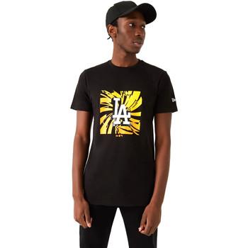 Υφασμάτινα Άνδρας T-shirt με κοντά μανίκια New-Era 12720171 Μαύρος