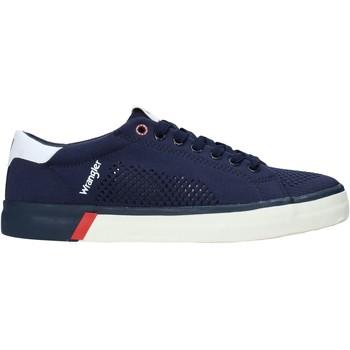Παπούτσια Άνδρας Χαμηλά Sneakers Wrangler WM01032A Μπλε